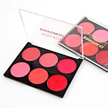 6 Concealer/Contour Blush Matte Mineral Powder Long Lasting Face China
