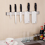Stainless Steel Magnetic Knife Holder Storage Strip Kitchen Tool Utensil Rack On