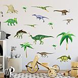 Животные ботанический Мода Наклейки Простые наклейки Декоративные наклейки на стены материал Украшение дома Наклейка на стену
