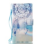 For Case Cover Card Holder Wallet with Stand Flip Magnetic Pattern Full Body Case Dream Catcher Hard PU Leather for Sony Sony Xperia L1