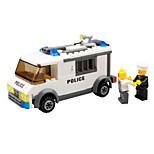 Конструкторы Полицейская машинка Игрушки Полиция Транспорт Армия Классика Мальчики 135 Куски