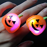 2PCS YWXLight® RGB Halloween Bar Dance Props LED Glow Rings Containing Batteries