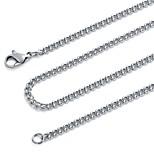 Муж. Жен. Ожерелья-цепочки Нержавеющая сталь Винтаж Хип-хоп Бижутерия Назначение Для вечеринок