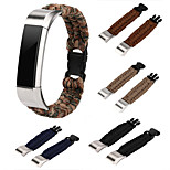For Fitbit Alta Fitbit Alta HR Straps Nylon Rope Survival Watch Strap Bracelet Watch Band