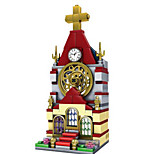 Building Blocks Toys Church Architecture Kids Boys' 148 Pieces
