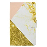 supporto per carta modello in marmo con custodia in pelle in cuoio magnetico per cuffia per la scheda galassia samsung 4 t330 t331 tablet