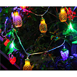 LED String Light Fruits Shape 6W 10LM 10M 38LEDS Multi Color AC220V