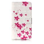 For Case Cover Card Holder Wallet with Stand Flip Pattern Full Body Case Flower Hard PU Leather for Huawei Huawei P10 Lite Huawei P9 Lite