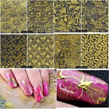 cheap -8 Stickers & Tapes Nail Sticker Foil Sticker Nail Decals Nail Art Tool
