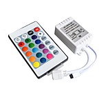 12V Controller Infrared 24 Key RGB 7 Color Lamp With Hard Light Bar 3528 5050 Module IR44 Key Remote Control