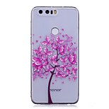 Case For Huawei P10 Lite IMD Transparent Pattern Back Cover Butterfly Tree Soft TPU for Huawei P10 Lite Huawei P9 Lite Huawei P8 Lite