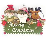 1шт Рождество Рождественские украшения Праздничные украшения,38X26CM