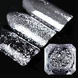 0.2g рожденный симпатичный зеркальный блеск серебряный золотой гвоздь блестки блеск для ногтей