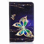 Butterfly Pattern Card Holder Wallet with Stand Flip Magnetic PU Leather Case for Samsung Galaxy Tab A 7.0 T280 T285 7.0 inch Tablet PC