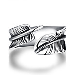 Men's Knuckle Ring Nail Finger Rings Band Rings Jewelry Punk Hip-Hop Stainless Steel Silver Plated Wings / Feather Jewelry For Halloween