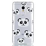 For Case Cover Pattern Back Cover Case Cartoon Panda Soft TPU for Xiaomi Xiaomi Redmi Note 4X Xiaomi Redmi Note 4