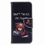 Case For V30 Q6 Card Holder Wallet with Stand Flip Magnetic Pattern Full Body Word / Phrase Hard PU Leather for LG Q6 LG V30