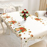 cheap -1Pcs 110X180Cm Rectangular Disposable Table Cloth Christmas Tablecloth Home Decoration