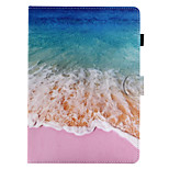 For Case Cover Card Holder with Stand Flip Magnetic Pattern Full Body Case Scenery Hard PU Leather for Apple iPad pro 10.5 iPad (2017)