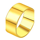 Men's Band Rings Metallic Personalized Stainless Steel Jewelry For Evening Party Street