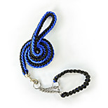 Dog Leash Portable Color Block Nylon