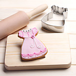 Baby Skirt with Lace Cookies Cutter Stainless Steel Biscuit Cake Mold Fondant Tools