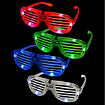 cheap -1Pcs Shades Flashing Led Glasses Party Funny Tricky Fluorescent Luminous Rave Costume Party Dj Bright