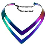 Women's Choker Necklaces Jewelry Geometric Alloy Punk Jewelry For Daily Casual