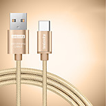 BEILESHI USB 2.0 Connect Cable USB 2.0 to USB 2.0 Type C Connect Cable Male - Male 0.5m(1.5Ft) Two Pieces