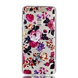 For Case Cover Pattern Back Cover Case Flower Soft TPU for Huawei Huawei P10 Lite Huawei P10 Huawei P9 Lite Huawei P8 Lite Huawei P8 Lite