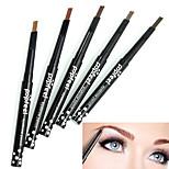 1PCS Popfeel Rotary Design Lasting Waterproof Eyebrow Pencil Eye Brow Liner Eyeliner Pen Powder Shaper
