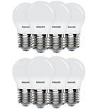 8шт 3.5 E27 Круглые LED лампы 8 светодиоды SMD 5730 Белый 300lm 6500K AC220V