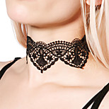 Women's Choker Necklaces Jewelry Lace Alloy Simple Sexy Sweet Elegant Jewelry For Daily Casual