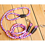 Dog Leash Portable Geometric Nylon