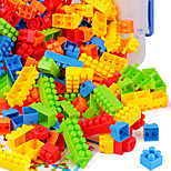 DIY KIT Building Blocks Toys Rectangular Square Novelty Circular Architecture Animals Houses Architecture Classic New Design Kids Adults'
