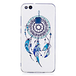 Case For P8 Lite (2017) P10 Lite Glow in the Dark IMD Pattern Back Cover Dream Catcher Soft TPU for Huawei P10 Lite Huawei P9 Lite Huawei