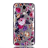 For Case Cover Pattern Back Cover Case Flower Soft TPU for LG LG K10 (2017) LG K8 (2017)