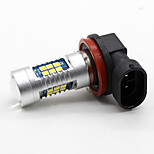 2x H10 Car LED 3030 chips White High Power 21SMD 800LM Head Fog Light Bulb 12 DRL BULBS