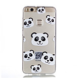 Case For Huawei P10 Lite P10 Transparent Pattern Back Cover Panda Soft TPU for Huawei P10 Lite Huawei P10 Huawei P9 Lite Huawei P8 Lite
