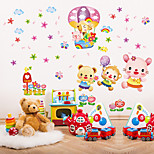 Cartoon Fashion Wall Stickers Plane Wall Stickers Decorative Wall Stickers,Plastic Material Home Decoration Wall Decal