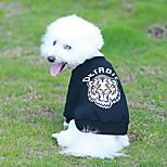 Животные Собака Толстовка Одежда для собак Дышащий Стиль Спортивная одежда Уникальный дизайн Животный дизайн Сохраняет тепло Высокое