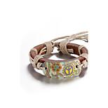 Муж. Жен. Кожаные браслеты В форме цветка Бижутерия Назначение Повседневные Для сцены Для улицы