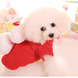 Dog Jumpsuit Dog Clothes Casual/Daily Solid Red Blue Pink Costume For Pets