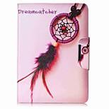 мечта ловушка шаблон карты держатель кошелек с подставкой флип магнитный кожаный чехол pu для Samsung Galaxy Tab 9,7 t550 t555