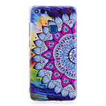 Case For P8 Lite (2017) P10 Lite Glow in the Dark IMD Pattern Back Cover Mandala Soft TPU for Huawei P10 Lite Huawei P9 Lite Huawei P8