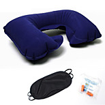 cheap -Comfortable-Superior Quality Memory Neck Pillow Stretch Inflatable Pillow Inflated Polyester