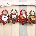 Недорогие -1шт Рождество Рождественские украшения, Праздничные украшения 16.0*12.0*1.8