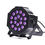 U'King ZQ-B194B 18*1W LEDs Purple Color Auto DMX Sound Activated Par Stage Lighting for Disco Party Club KTV Wedding