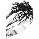 Men's Band Rings Personalized Rock Alloy Irregular Jewelry For Halloween Street