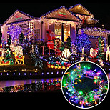 BRELONG 6.5W 100-LED Curtain Light / Christmas / Wedding / Party Background Decorative Lights / Family Garden / (10m / EU) 1pcs